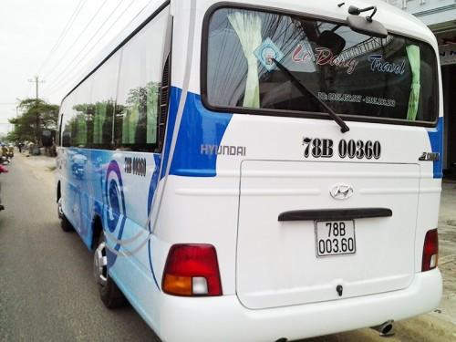 Thuê xe du lịch Phú Yên